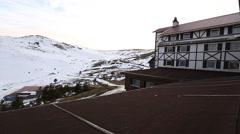 Skiing Holiday, Kayak Tatili Stock Footage