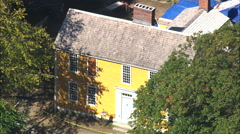 John Hancock House Stock Footage