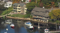 Perkins Cove Stock Footage