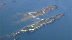 Calendar Islands Stock Footage