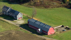Farms And Barns Stock Footage
