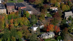 Lichfield aerial Stock Footage