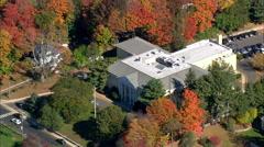Westport aerial Stock Footage