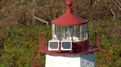 Faulkner's Light Brigade Lighthouse Stock Footage