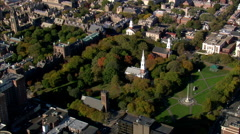 New Haven Green Stock Footage