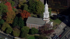 First Church Of Hartford Stock Footage