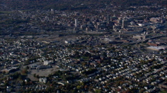 Worcester aerial Stock Footage