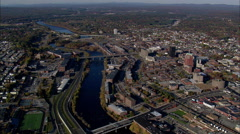 Manchester aerial Stock Footage