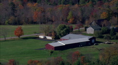 Farms And Lakes Stock Footage