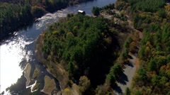 Merrimack River Mill Stock Footage
