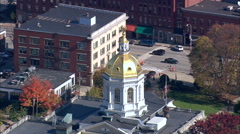 New Hampshire State House Stock Footage