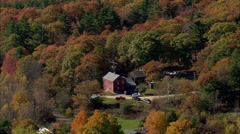 Hills And Farms Stock Footage
