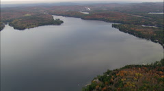 Lake Sunapee Stock Footage