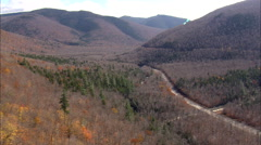 Bikers On Crawford Notch Road Stock Footage