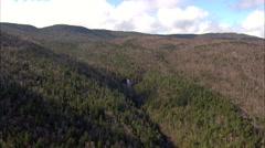 Arethusa Falls Stock Footage