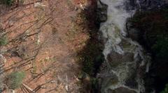 The Pool' On Pemigewasset River Stock Footage