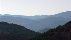 Adirondack Mountains Stock Footage