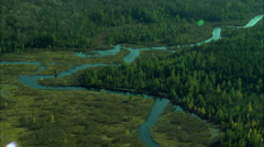 Rivers In Adirondack Mountains Stock Footage