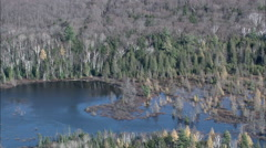 Lakes In The Adirondacks Stock Footage