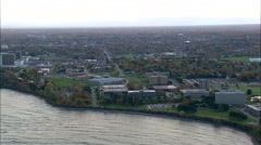 Oswego And Fort Ontario Stock Footage
