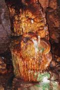 Bellamar caves (Cuevas de Bellamar), Cuba. Underground geological landmark wi - stock photo