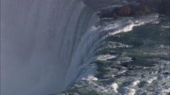 Horseshoe Falls Stock Footage
