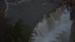 Lower Falls Stock Footage