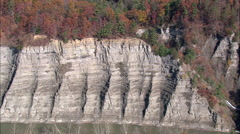 Gorge In Letchworth State Park Stock Footage