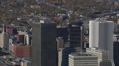 Rochester aerial Stock Footage