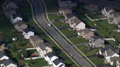 Rochester Suburbs Stock Footage