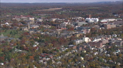 Ithaca aerial Stock Footage