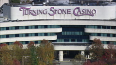 Turning Stone Casino And Resort Stock Footage