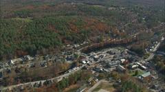 Peterborough aerial Stock Footage