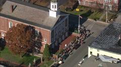 Voting In Peterborough Stock Footage