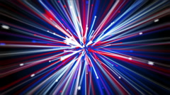 4th of July Shooting Stars Stock Footage