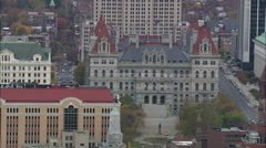 Albany aerial Stock Footage