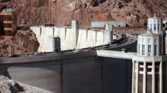 Hoover Dam Time Lapse - stock footage