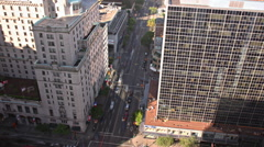 Vancouver Street Time Lapse Stock Footage