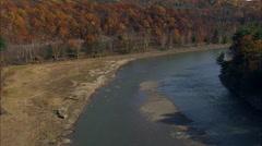 Ashokan Reservoir Stock Footage