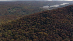 Hudson Highlands Stock Footage