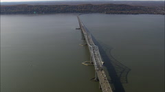 Tappan Zee Bridge Stock Footage