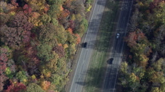 Pallisades Interstate Parkway Stock Footage
