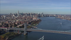 East River From 200Ft 60 Stock Footage