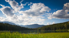 Lake Coulds Time Lapse Stock Footage