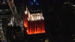 Empire State Building Day & Night 60 Stock Footage