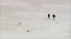 Jockey's Ridge State Park And Sand Dune Stock Footage