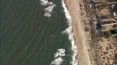 Hatteras aerial Stock Footage
