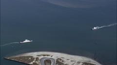 Ocracoke Ferries Stock Footage