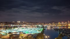 San Diego Time Lapse Stock Footage