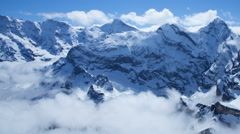 Swiss Alps Time Lapse - stock footage